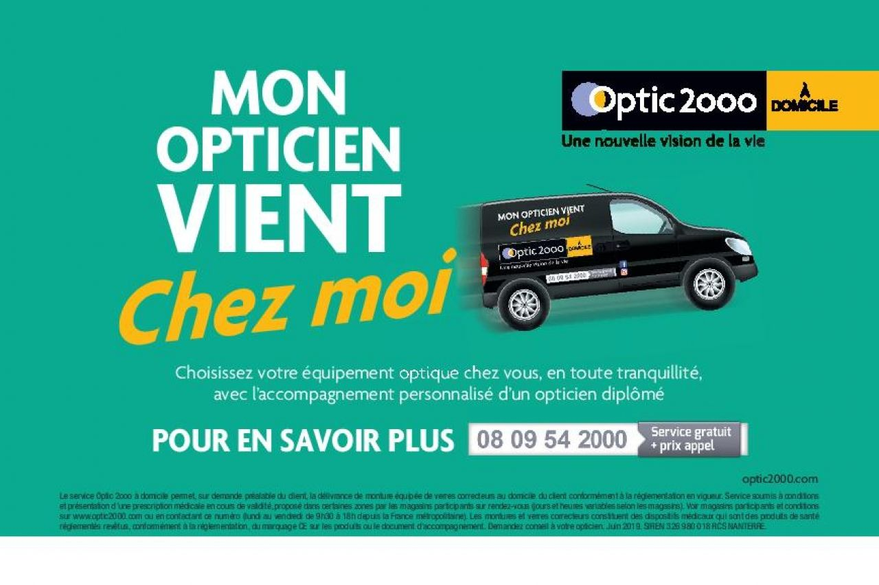 OPTIC  2000 - Votre opticien à domicile