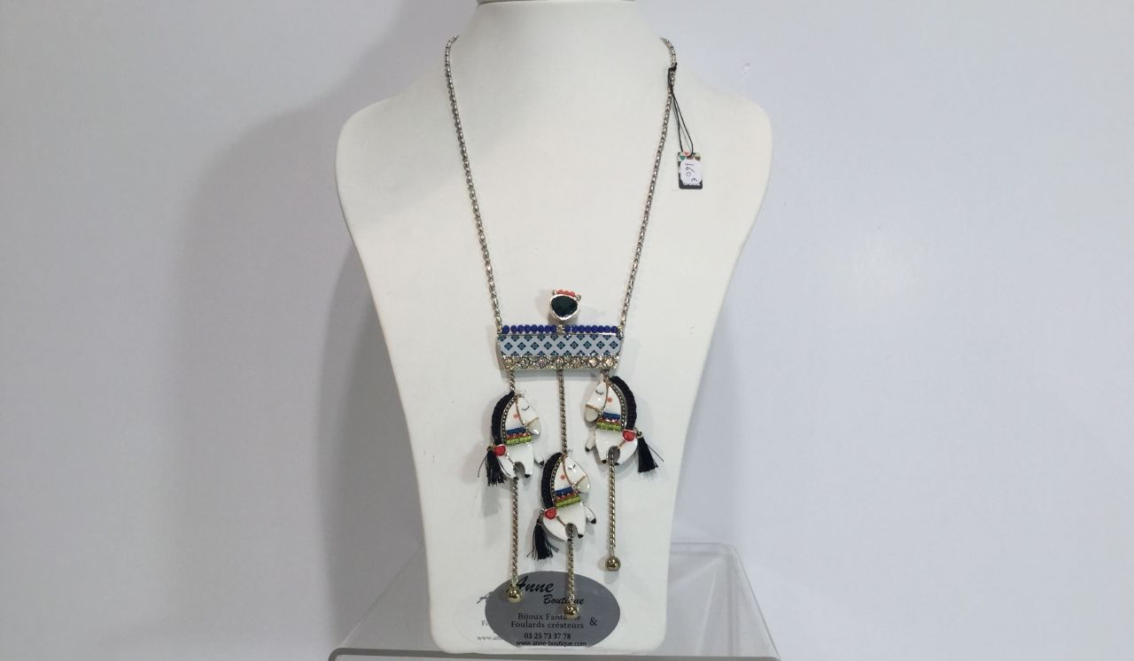 Anne Boutique - Collier sautoir Taratata