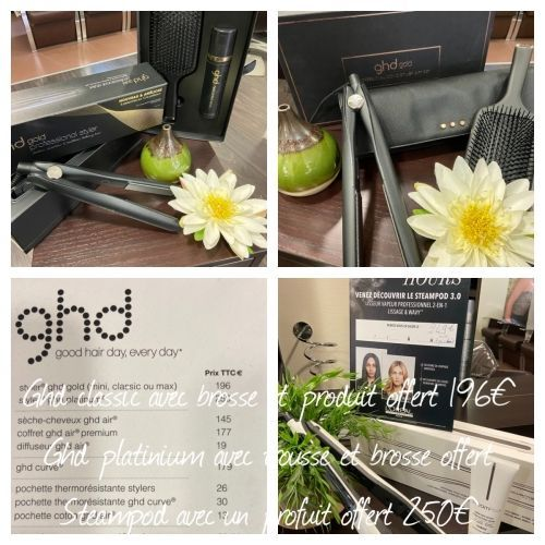 Edge Coiffure - Troyes : Ghd et steampod